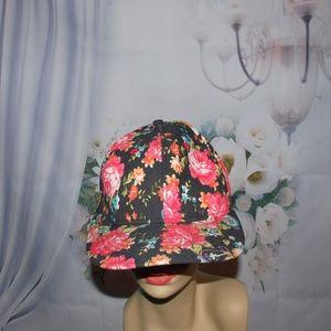 Floral Hat Forever 21 NWOT